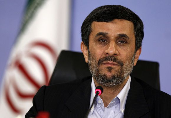 Iran's President Mahmoud Ahmadinejad attends a news conference in Istanbul, in this May 9, 2011 file picture. Ahmadinejad will not attend the next OPEC meeting but will send one his ministers, a senior official was quoted by the official IRNA news agency as saying on May 23, 2011. REUTERS/Murad Sezer (TURKEY - Tags: POLITICS HEADSHOT)