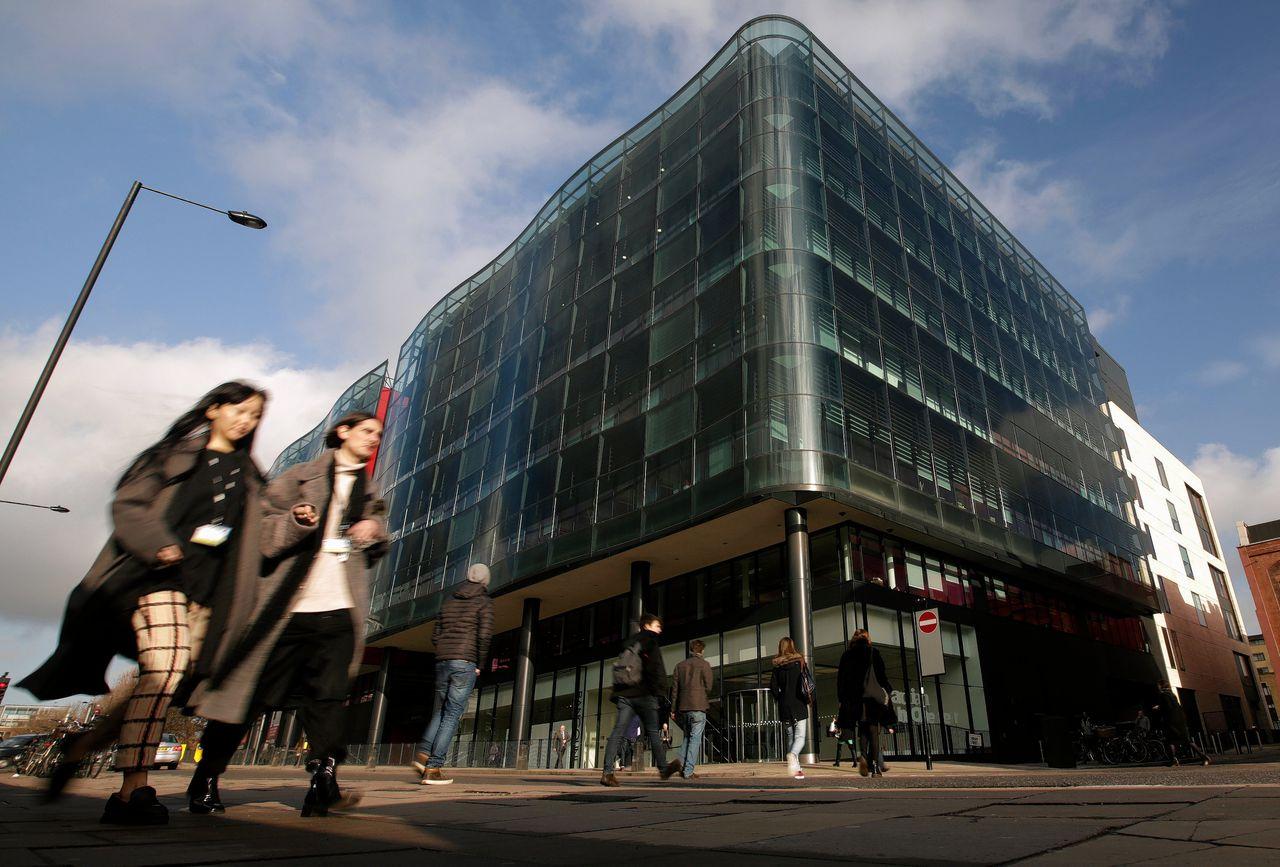Het kantoor van The Guardian in Londen.