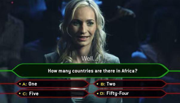 """De Europese """"Lilly"""" moet nog één vraag beantwoorden om vrijwilliger te mogen worden in Afrika."""