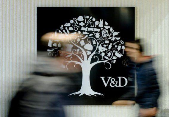 Winkelend publiek in het Utrechtse filiaal van V&D, 10 februari 2015.