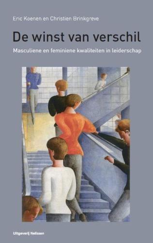 Cover van het boek De winst van het verschil, masculiene en feminiene kwaliteiten in leiderschap van Eric Koenen en Christien Brinkgreve
