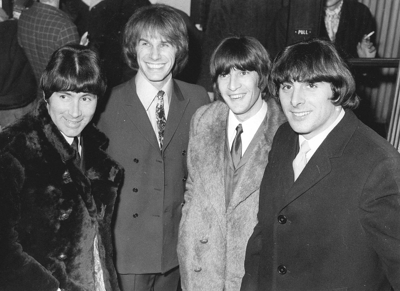 From left they are: Reg Presley, Chris Britton, Ronnie Bond and Pete Staples./From left they are: Reg Presley, Chris Britton, Ronnie Bond and Pete Staples.