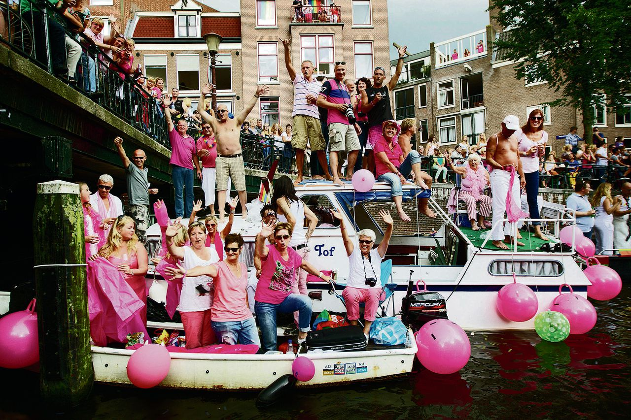 Botentocht Canal Parade in 2012