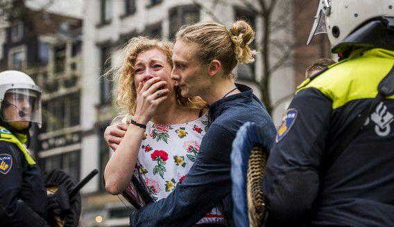 Het Maagdenhuis werd dit weekend ontruimd door de ME. Studenten hielden het pand van de Universiteit van Amsterdam weken bezet, uit protest tegen het bestuur.