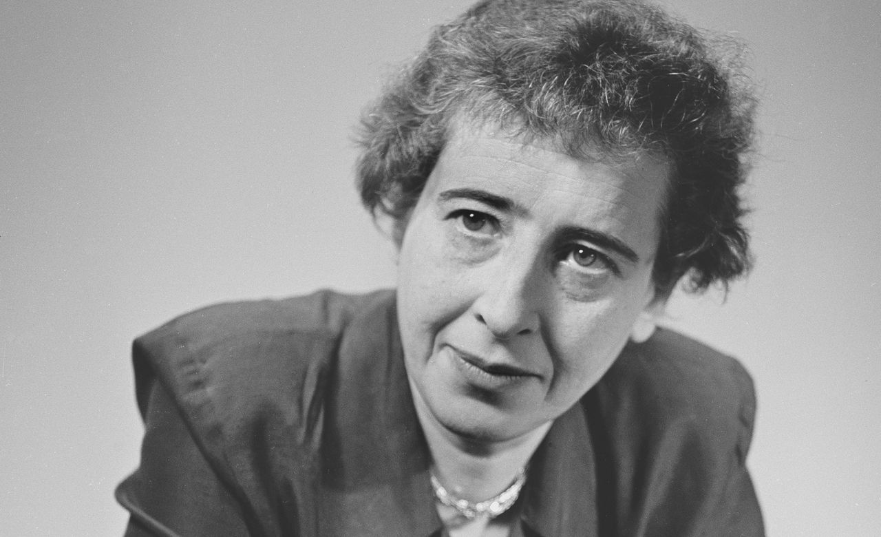 Hannah Arendt (1906 - 1975), in 1949.
