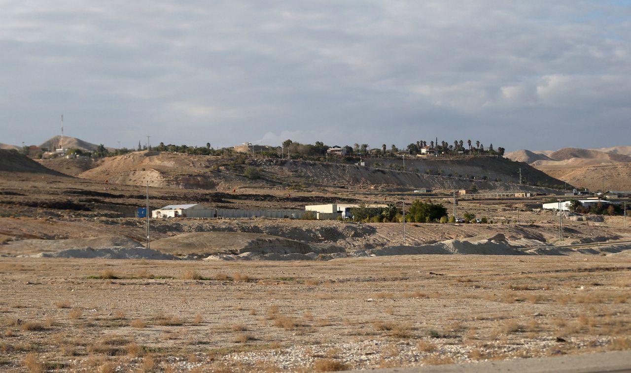 De Westelijke Jordaanoever nabij Jericho.