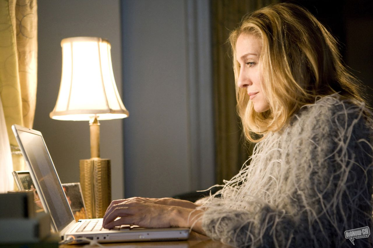 Columniste Carrie in de film 'Sex and the City' Carrie Bradshaw (Sarah Jessica Parker)