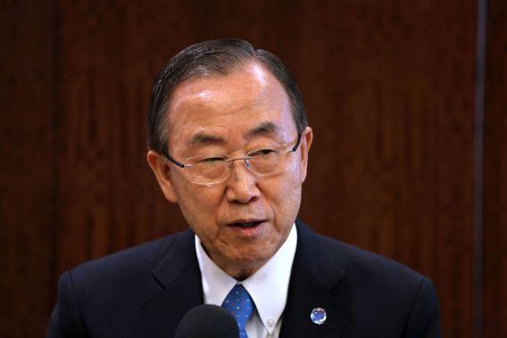 Secretaris Generaal Ban Ki-moon ziet de inspectie van de VN als 'effectief afschrikmiddel' tegen het gebruik van chemische wapens.