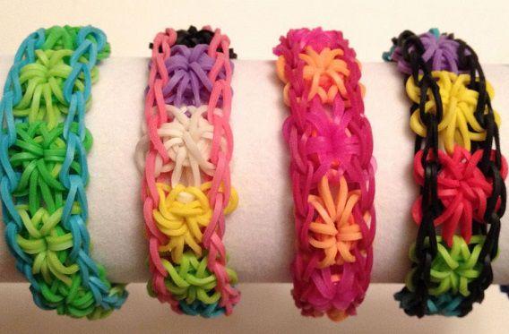 Rubberen armbandjes gemaakt volgens het Band-it-principe