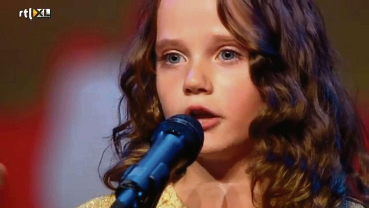 Amira Willighagen, 'Holland's Got Talent' (RTL 4).