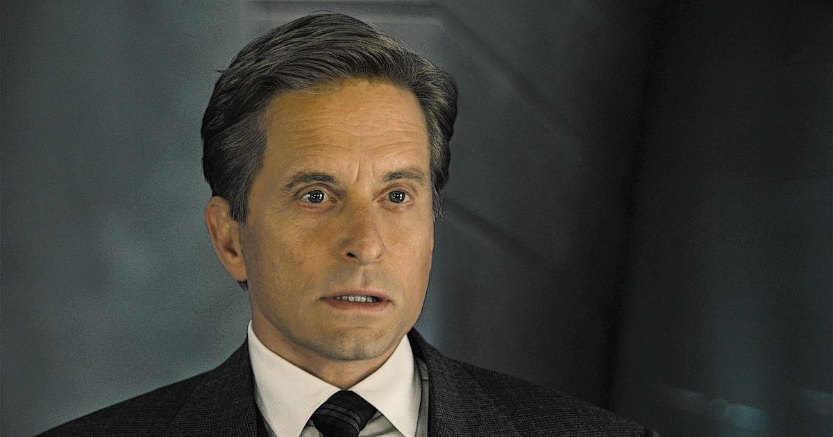 Michael Douglas in Ant-Man (2015).