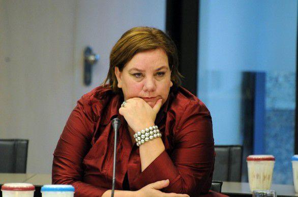 FNV-voorzitter Agnes Jongerius.