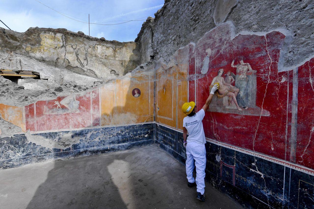 Het J. Paul Getty Trust verstrekt onder andere subsidies aan universiteiten voor het digitaal in kaart brengen van het landschap van de Romeinse stad Pompeï in Italië.