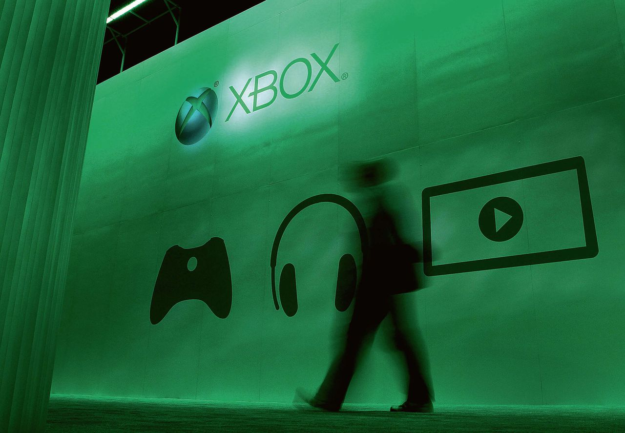 Microsofts Xbox op gamebeurs E3 Expo in LA in 2012