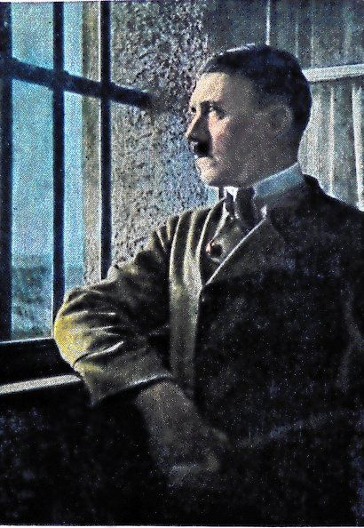 Adolf Hitler in de Lansburg prison following the Beer Hall Putsch, Munich, Germany 1923 (Photo by: Universal History Archive/UIG via Getty Images)