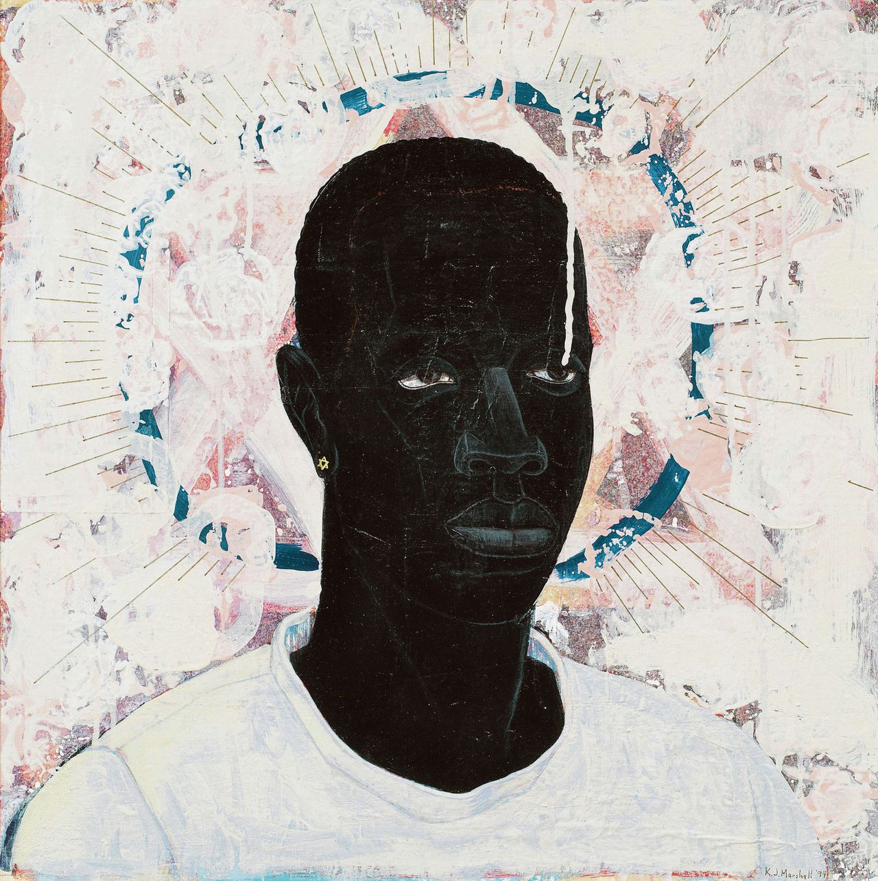 Kerry James Marshall: Lost Boys AKA Black Johnny, 1993