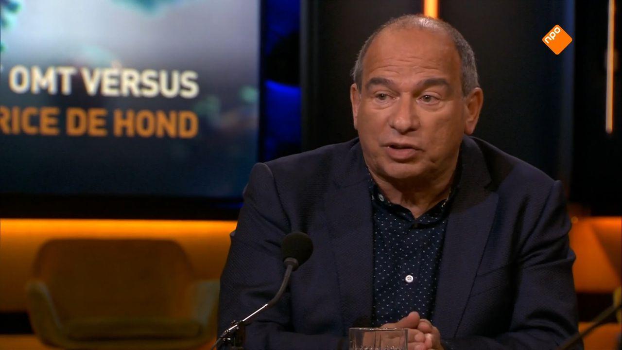 Maurice de Hond in debat met hoogleraar Andreas Voss in Op1 (EO)