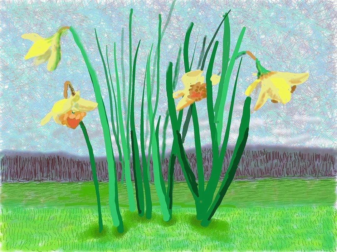 David Hockney: Do Remember They Can't Cancel the Spring
