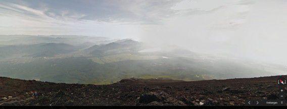Uitzicht vanaf de berg