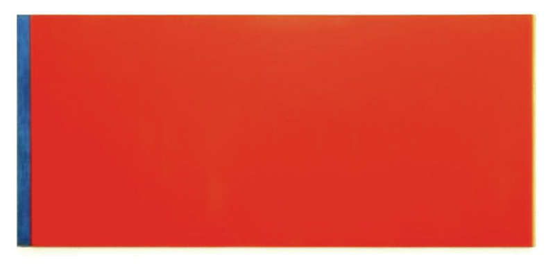 Barnett Newman: 'Who's Afraid of Red, Yellow and Blue III'