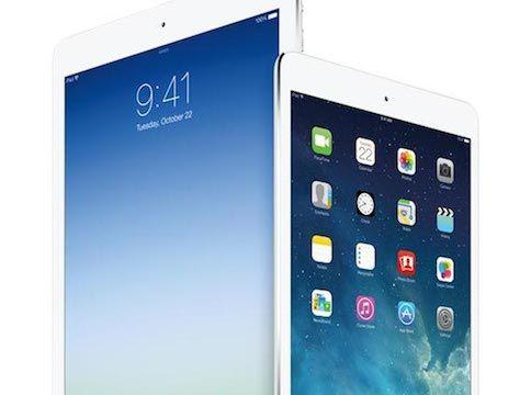 Apples nieuwe iPads.