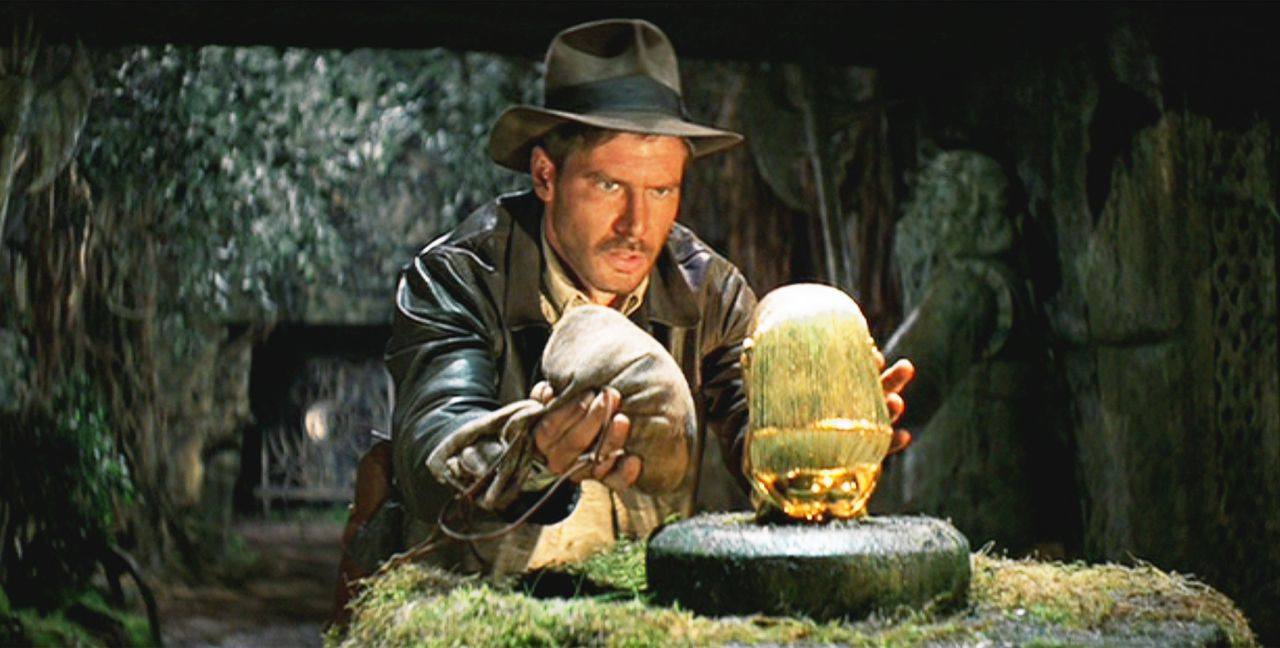 Indiana Jones als kampioen van de academische vrijheid in Steven Spielbergs Raiders of the Lost Ark