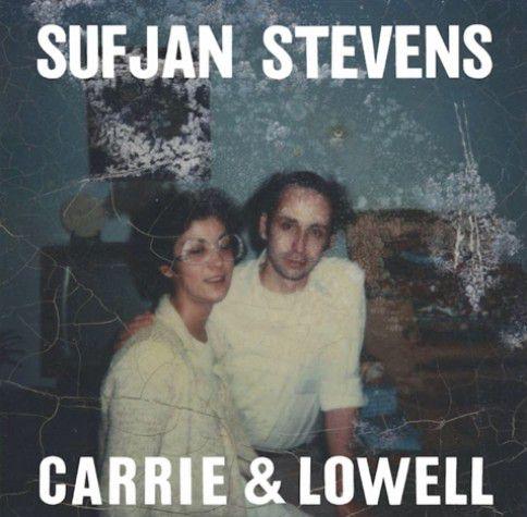Albumcover van het nieuwe album van Sufjan Stevens, Carrie & Lowell.