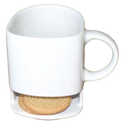 Nooit meer gestuntel: de Dunk mug Mok met koekjesvak www.mocha.uk.com/shop