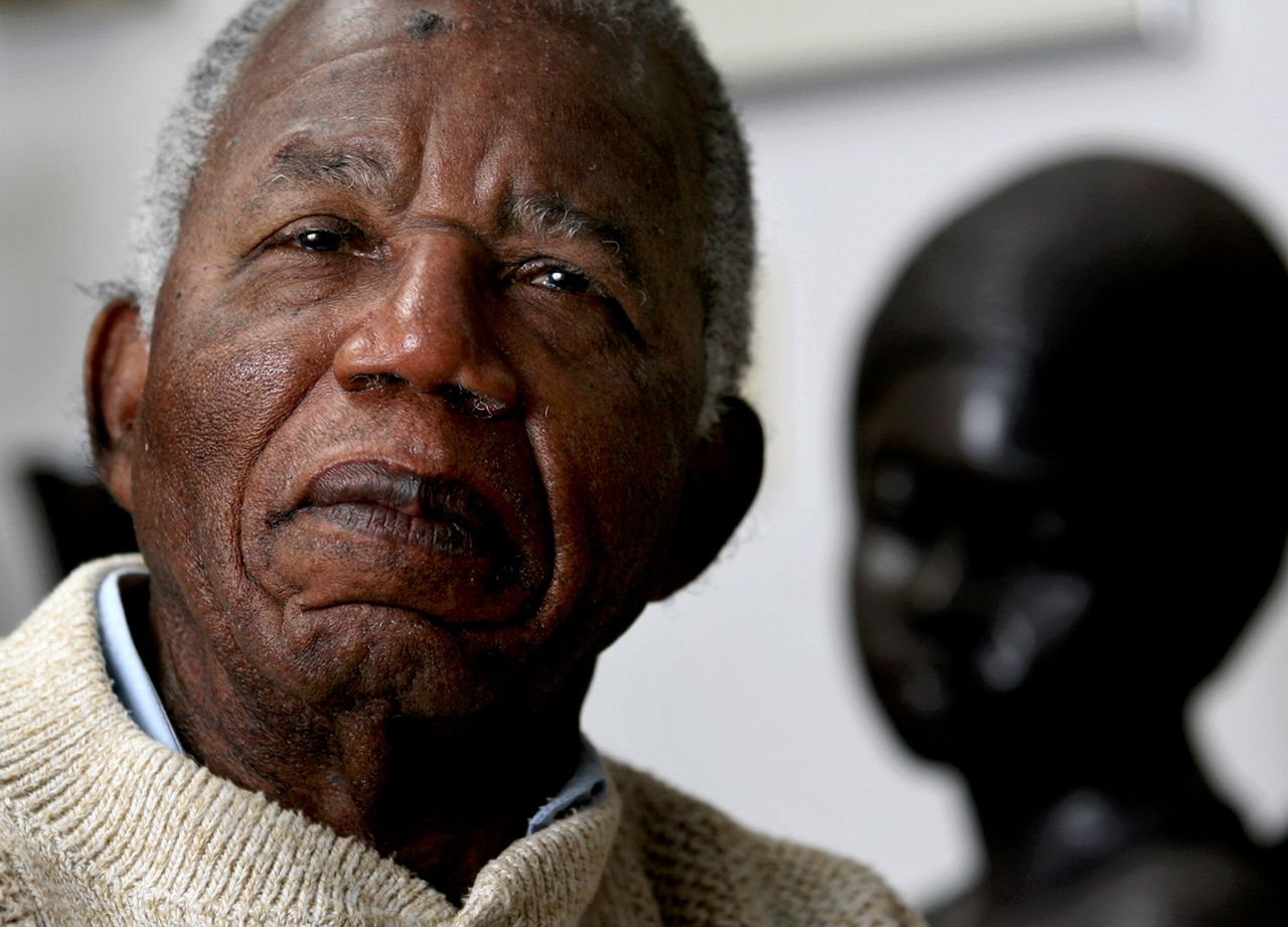 Chinua Achebe in januari 2008.