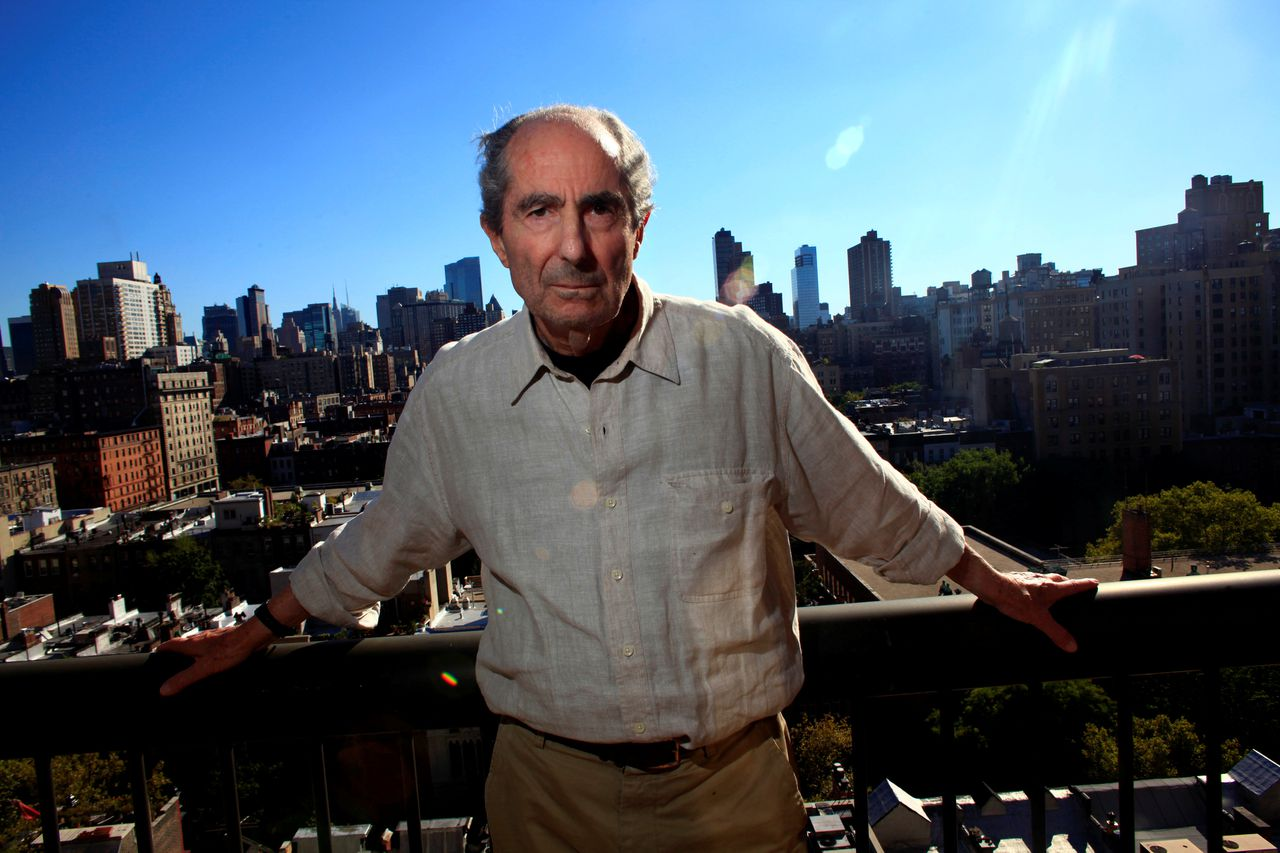 Schrijver Philip Roth in New York in 2010.