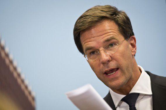 Den Haag - Minister president Mark Rutte geeft een persconferentie nav de gebeurtenissen rond vlucht MH17. Hij heeft net een intens telefoongesprek gehad met Putin. foto: ANP EVERT-JAN DANIELS