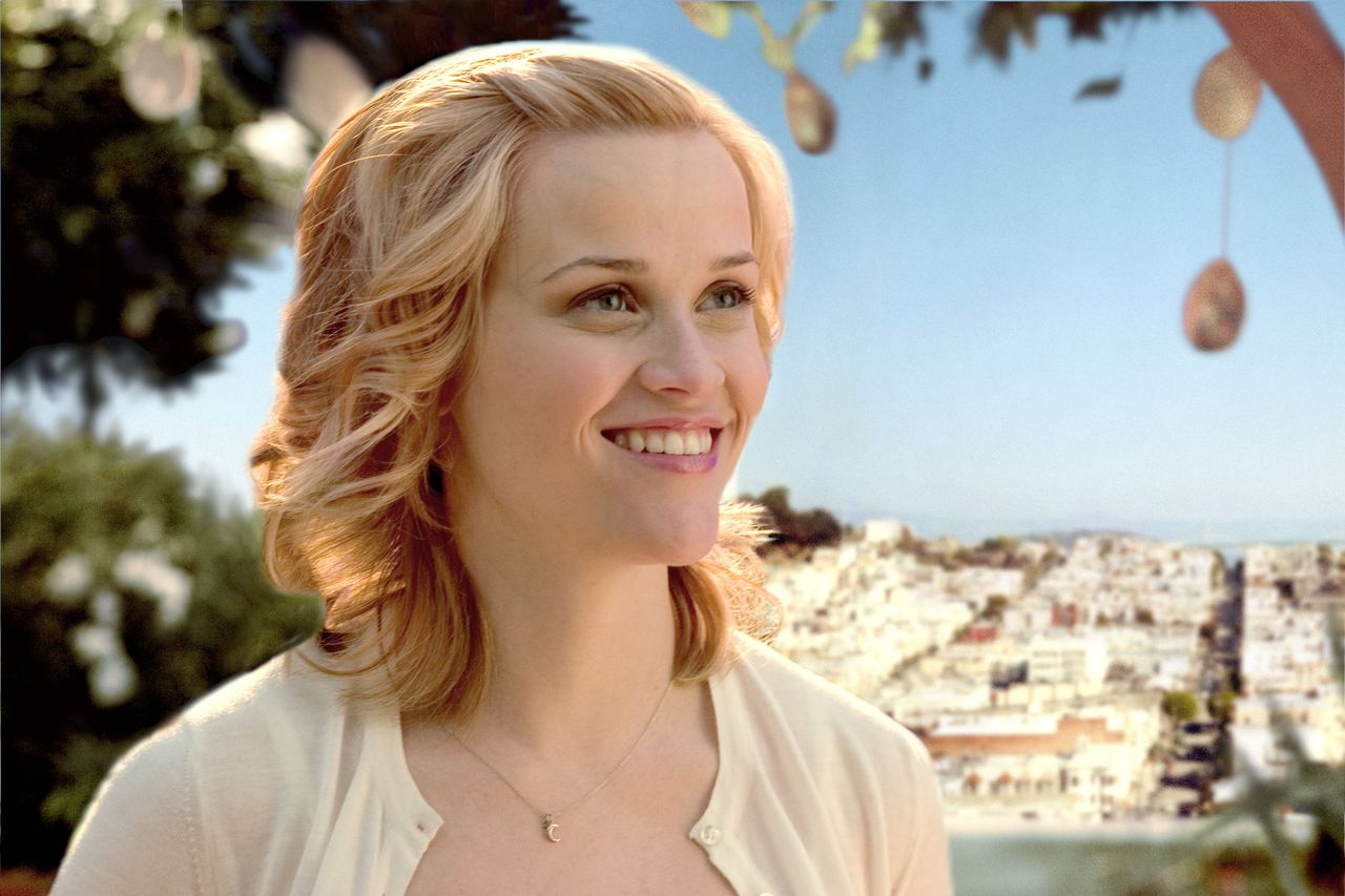 De ambitieuze arts Elizabeth (Reese Witherspoon) duikt na haar dood op als geest in Just like Heaven. REESE WITHERSPOON stars as Elizabeth in DreamWorks Pictures' romantic comedy JUST LIKE HEAVEN. Photo Credit: © Peter Lovino