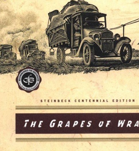 book review about the grapes of wrath The grapes of wrath by john steinbeck is one of the best books i've read it tells of how a family was driven out of their land by the forces that ruled america.