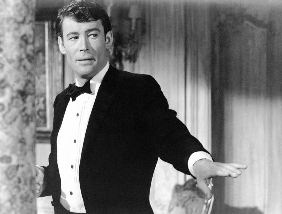 O'Toole in 1965 in de film 'How to Steal a Million Dollars and Live Happily Ever After'.