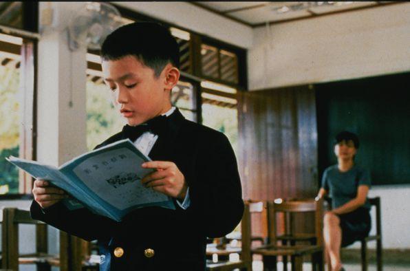 LICHTVOETIG: het kleine neefje Foto Upstream Pictures scene uit de film Yi Yi (2000) FOTO: Upstream Pictures
