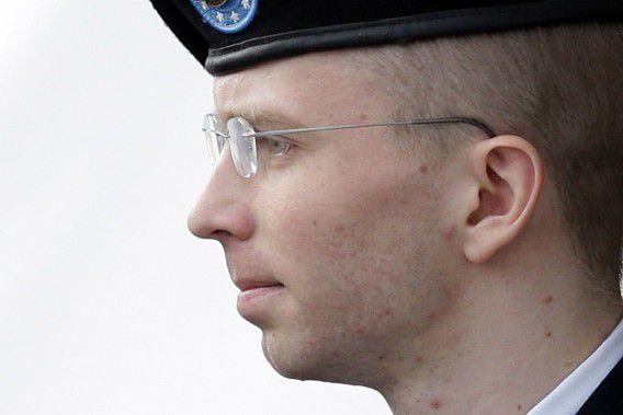Archieffoto Bradley Manning.
