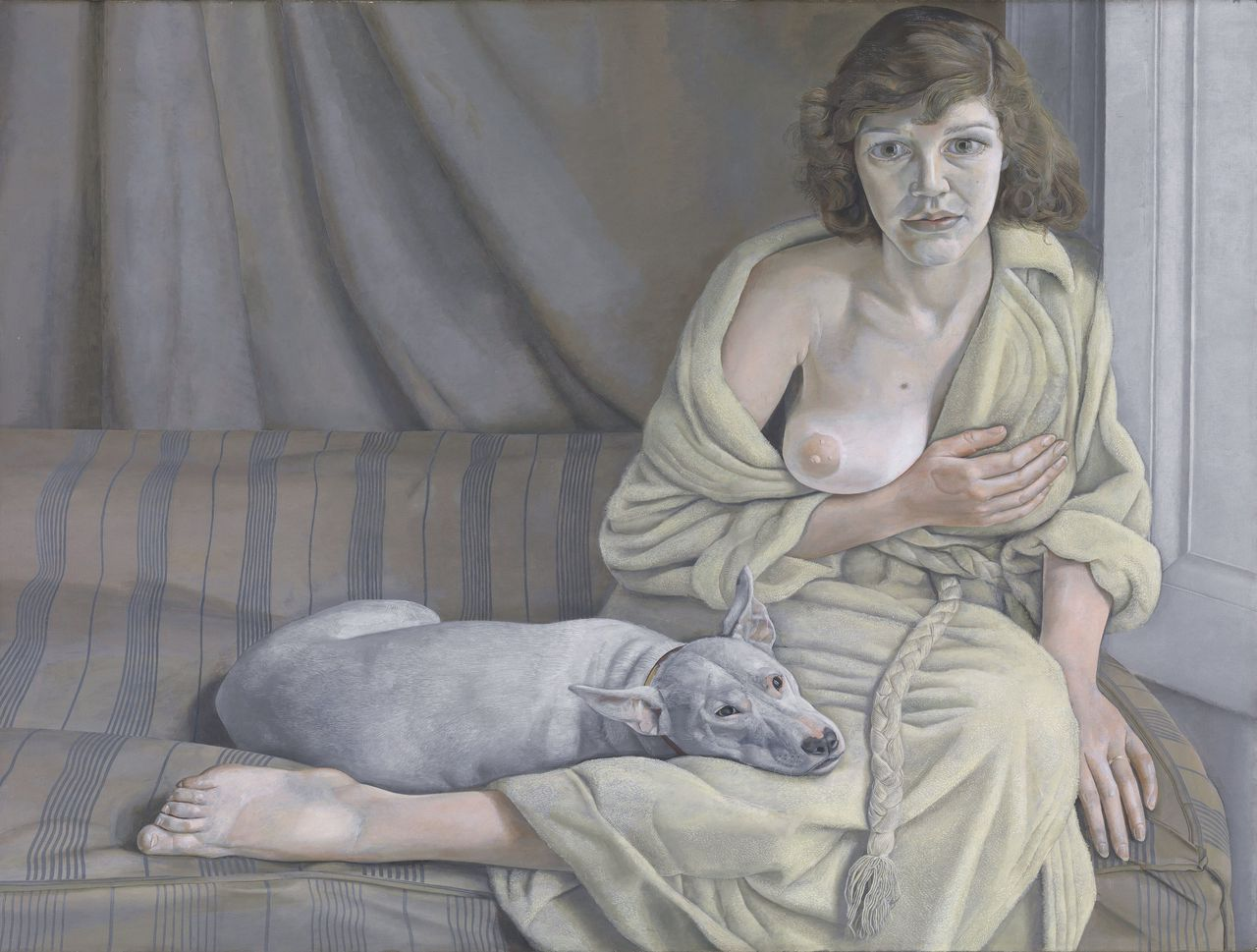 Lucian Freud, Girl With a White Dog (1950-'1)