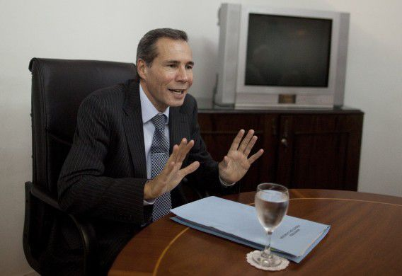 Alberto Nisman in 2013.