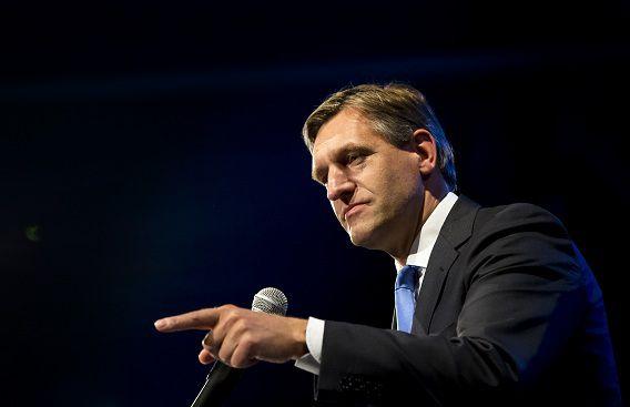 """Van Haersma Buma zegt dat het CDA het kabinet wil gaan helpen """"waar dat kan""""."""