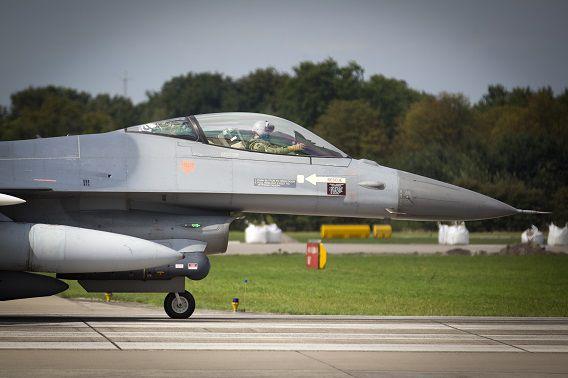 Archieffoto van een F-16. Foto: ANP / Jeroen Jumelet
