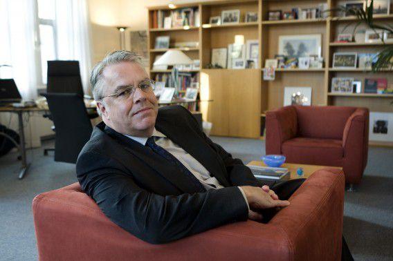 Den Haag, 29-12-08. Chris Buijink, secr. generaal Economische Zaken. Foto Leo van Velzen NrcHb.
