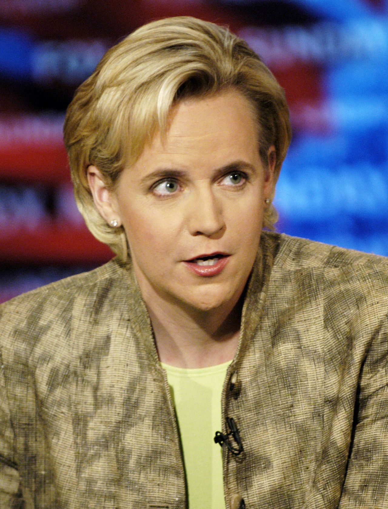 "Mary Cheney Foto Reuters Mary Cheney, daughter of Vice President Richard Cheney, speaks on ""Fox News Sunday"" in Washington, DC, May 14, 2006. Cheney defended her father's responses to criticism from the media and the public, saying ""Ultimately, he's going to base his decision and his position on what he knows is right and what is in the best interests of this country."" NO SALES NO ARCHIVES REUTERS/Fox News/Freddie Lee/Handout"