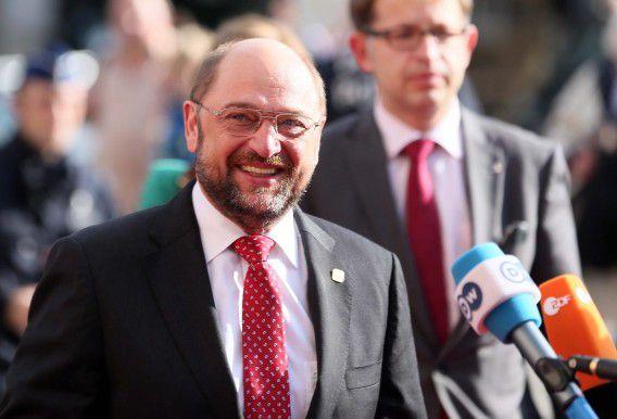 De voorzitter van het Europees Parlement Martin Schulz arriveert vandaag voor de eurotop in Brussel. Een van de belangrijkste onderwerpen is de migratieproblematiek, maar het afluisterschandaal met de NSA domineert de sfeer.