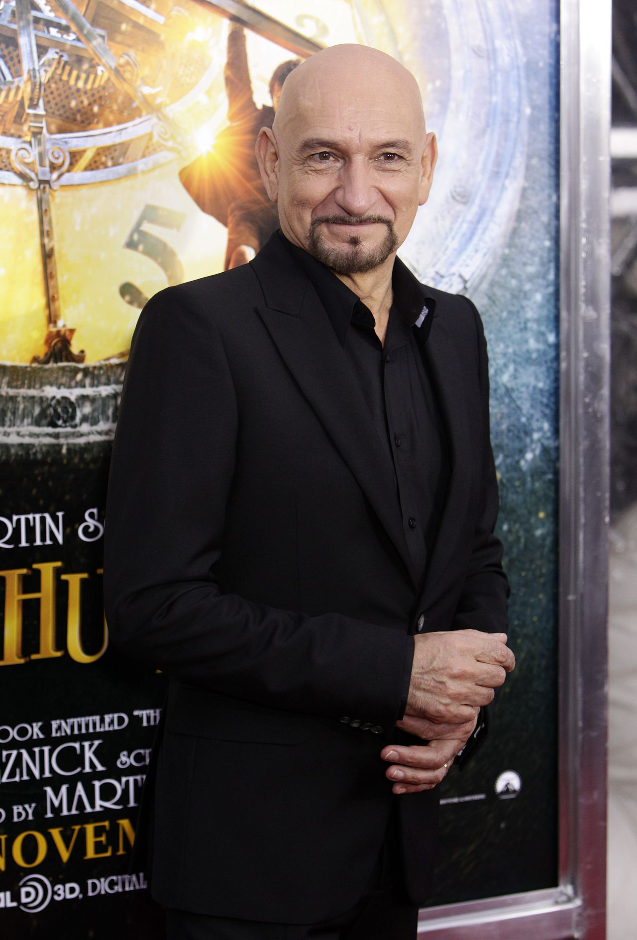 "Actor Ben Kingsley attends the premiere of ""Hugo"" at the Ziegfeld Theater in New York, on Monday, Nov. 21, 2011. (AP Photo/Peter Kramer)"