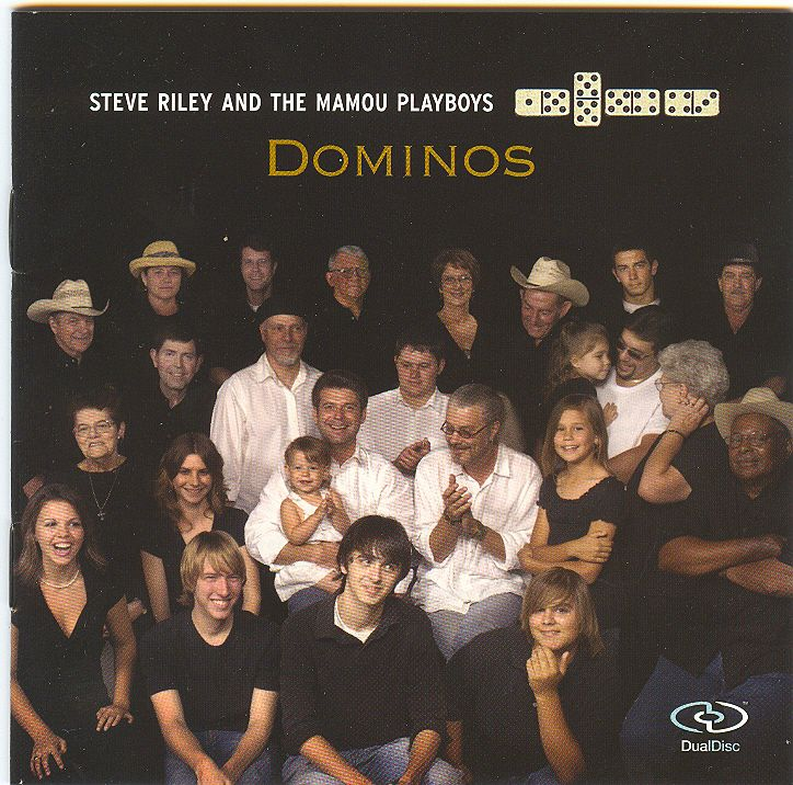 Steve Riley and The Mamou Playboys:Dominos Rounder 11661-6112-2****
