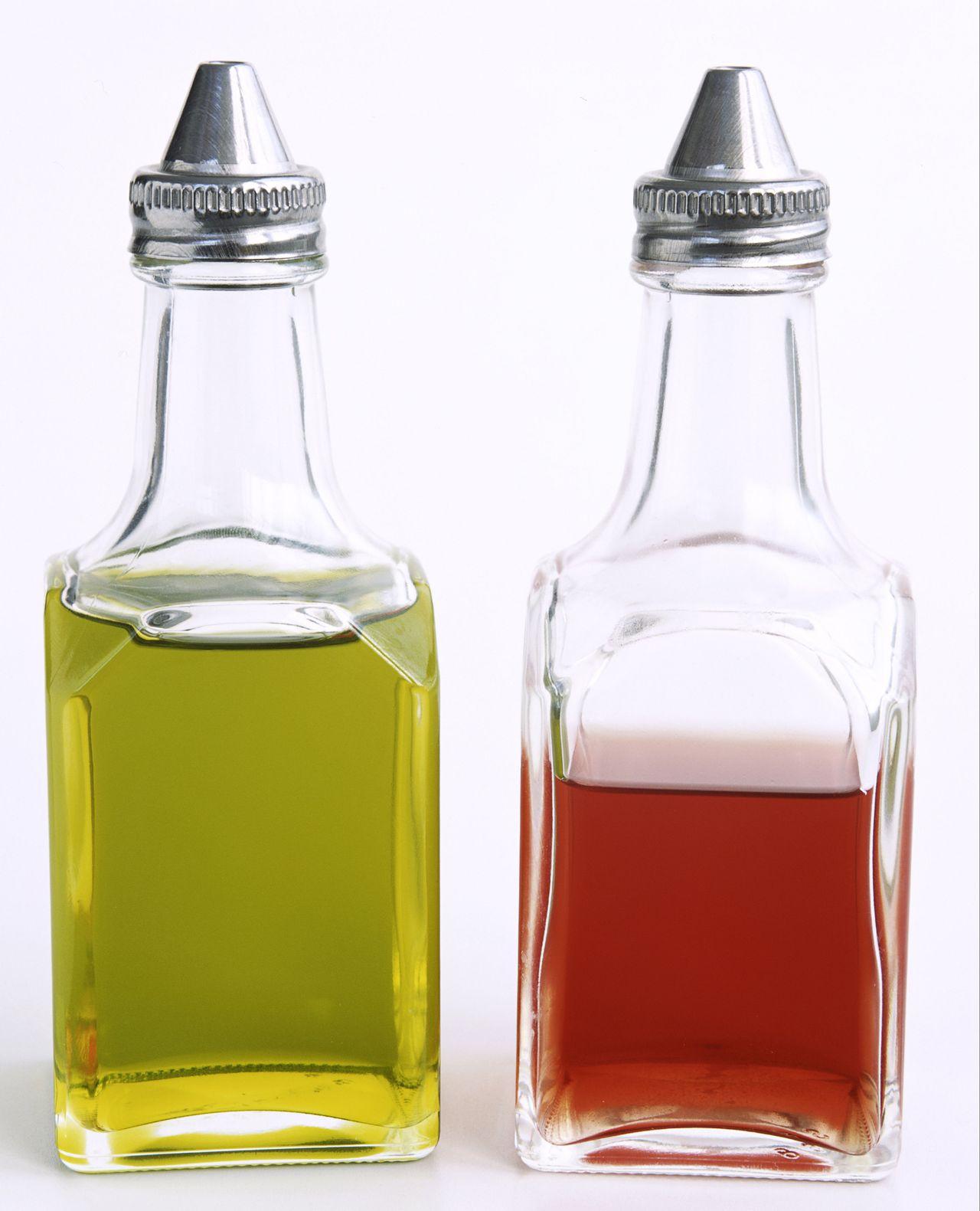 Olive Oil and Vinegar Cruets