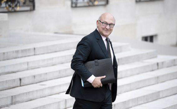 De Franse minister van Financiën Michel Sapin hoopt woensdag aan een negatief oordeel van de Europese Commissie te ontsnappen. Foto: AFP / Alain Jocard