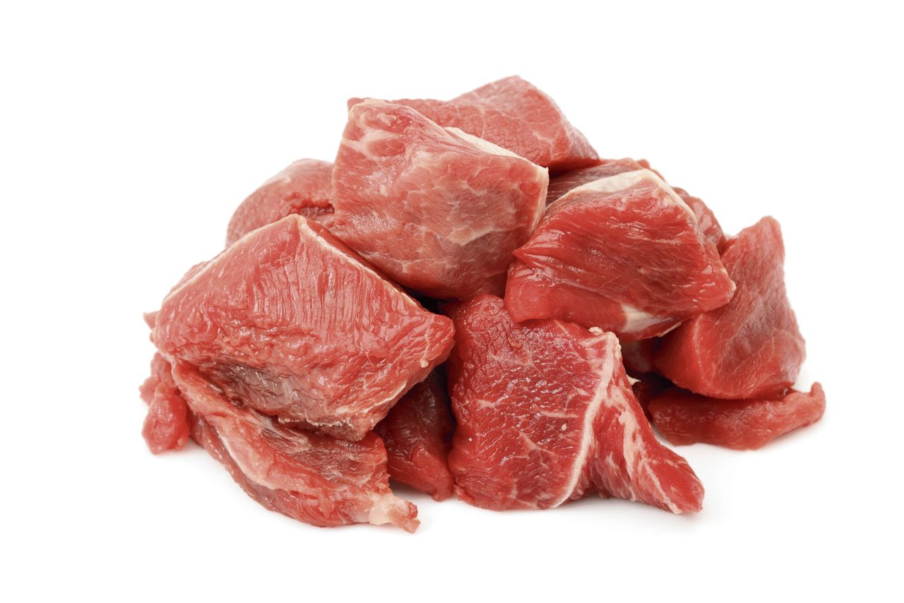 Raw Beef Cubes