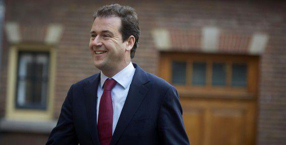 Minister van Sociale Zaken Lodewijk Asscher vorige week bij aankomst bij de Ministerraad.