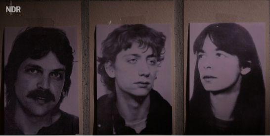 De drie oud-RAF-leden die worden gezocht voor een roofoverval op een geldtransport in Bremen.